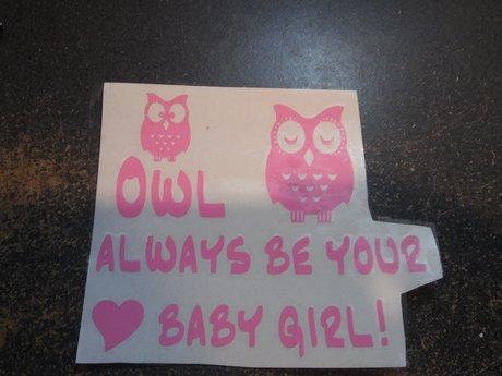 """""""Owl"""" Always Be..."""