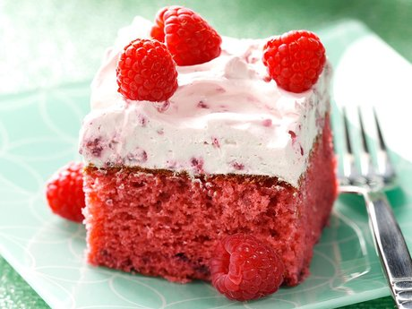Super Cake Recipe- Raspberry