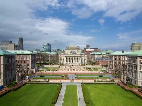 Tour of Columbia University