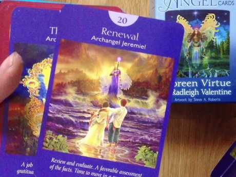 Angel tarot reading