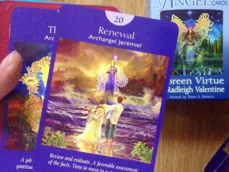 Angel tarot reading