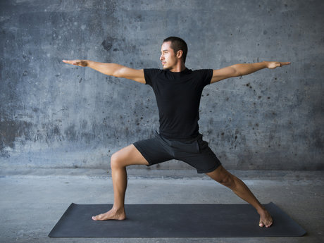 Yoga and fitness training
