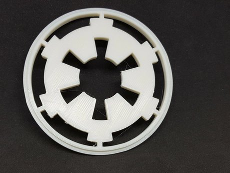 3D Printed Star Wars Logo for Don L