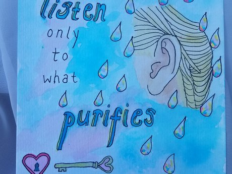 Listen Only to what Purifies