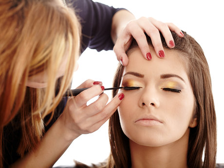 Makeup lessons and application