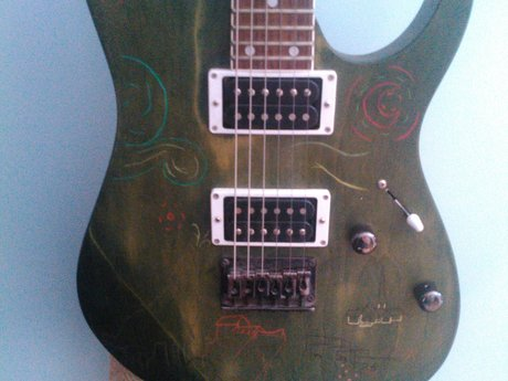 Guitar remodels and wiring
