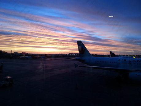 Airport stock photo - digital