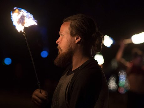 Private fire spinning lessons