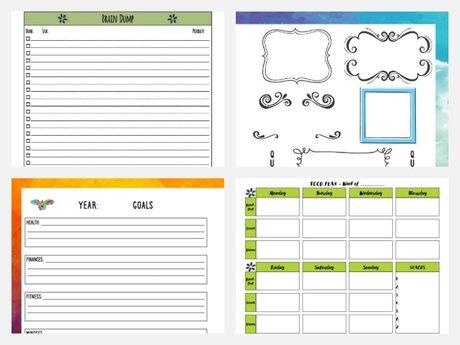 A Custom Printable Journal Page PDF