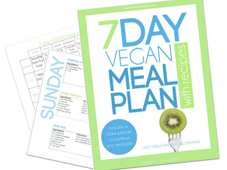 7 days of Easy Vegan Meals