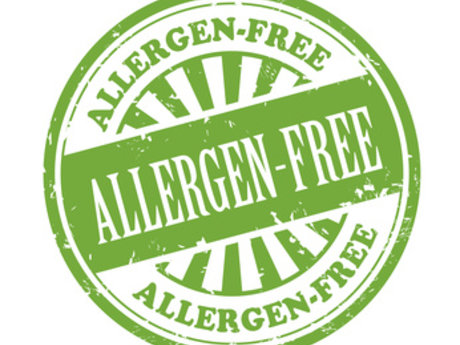 Advice on allergy free food