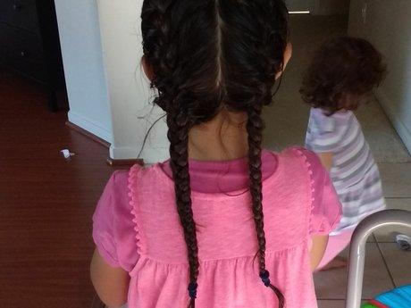 French-braid