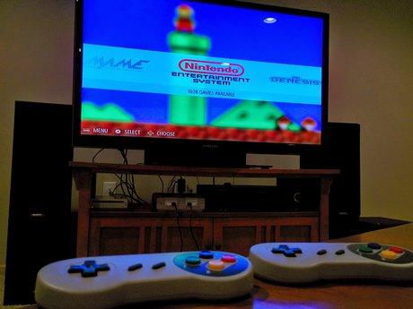 Retro Pi Game Emulator Setup