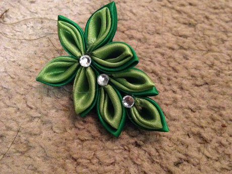 Kanzashi Flower for Jaymes Lauser