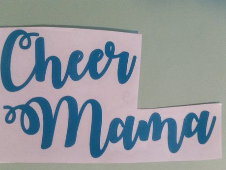 Cheer Mama decal