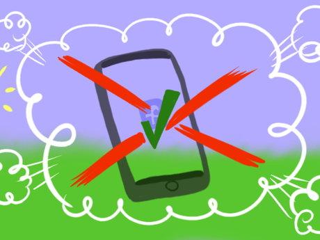 No Facebook, no cell phone, AMA