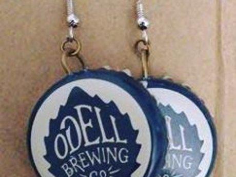 ODell Bottlecap Earrings