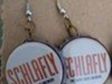 Schlafly Bottlecap Earrings