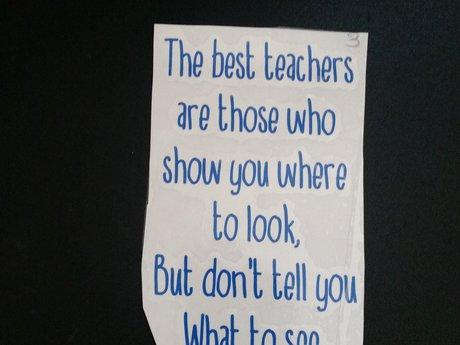 The best teachers.... decal