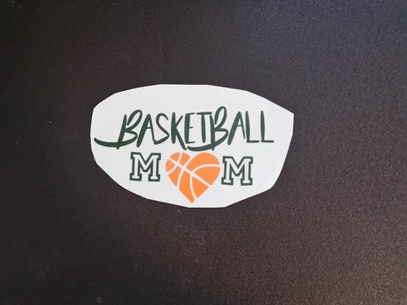Basketball Mom Decal