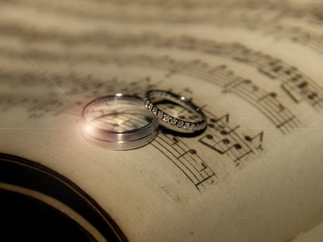 Personalized wedding song