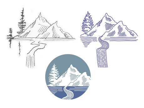 Create Your Drawing in Illustrator