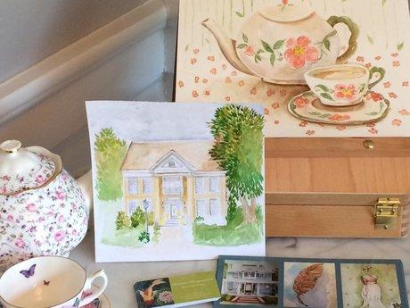 Original SURPRISE Watercolor