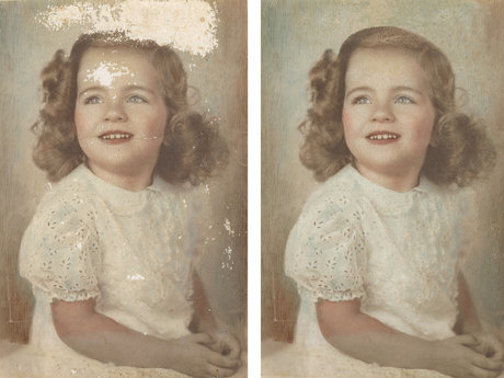 Photo/ Artwork restoration