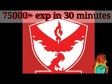 70k+ exp in 30 minutes Pokego