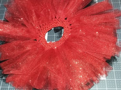 Red/Black Baby Tutu