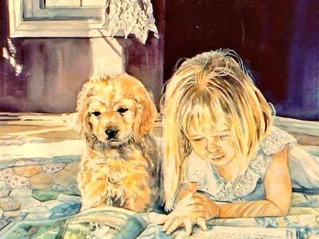 Personal painted portrait.