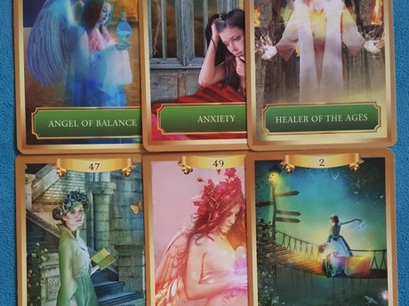 6 Card Oracle Card reading