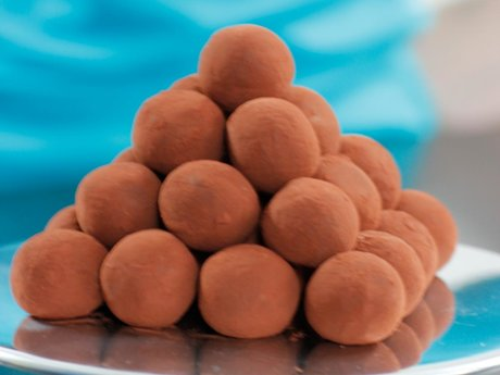 Meltinyour mouth chocolate truffles
