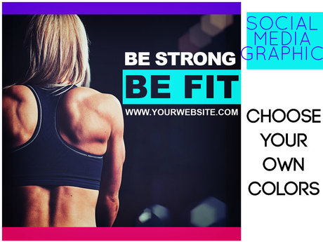 Fitness IG Social Media Graphic