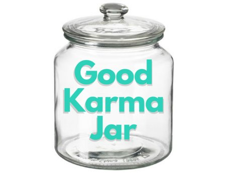 Good Karma Tip Jar - Warm Fuzzies