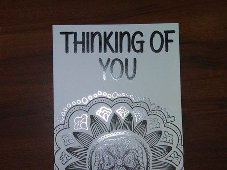 Color Your Own Greeting Card
