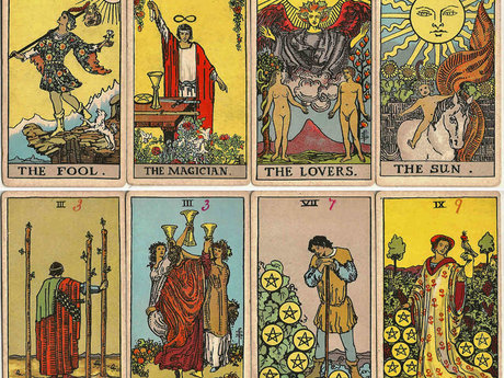 Eight  Card Tarot Reading!