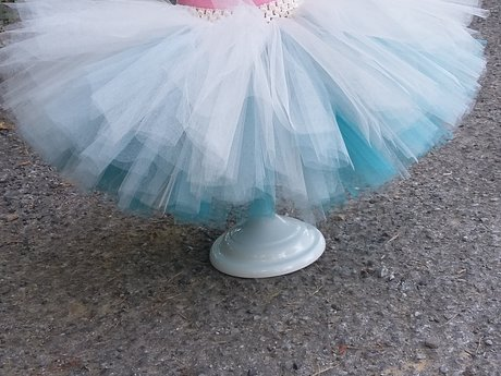 Girls 3t/4t reversible tutu