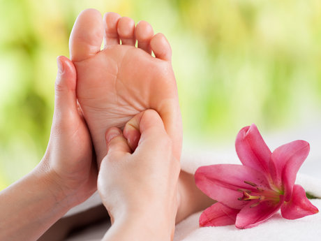 Self - Help Reflexology - how to
