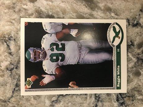 Reggie White NFL Card