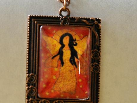Jewelry Angel necklace Wearable ART