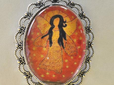 Jewelry Angel Pendant mini artwork