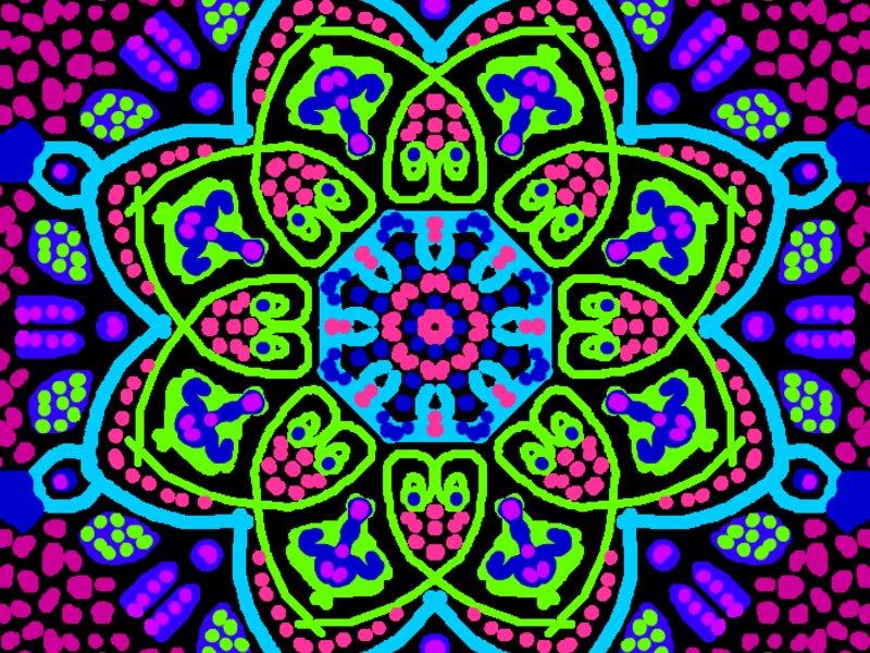 60 Kaleidoscope Repeat Patterns Ella Royer Simbi Cool Kaleidoscope Patterns