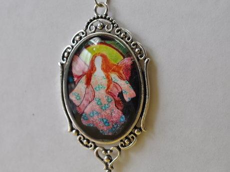 Jewelry ANGEL necklace ART
