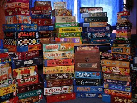 Board game rental