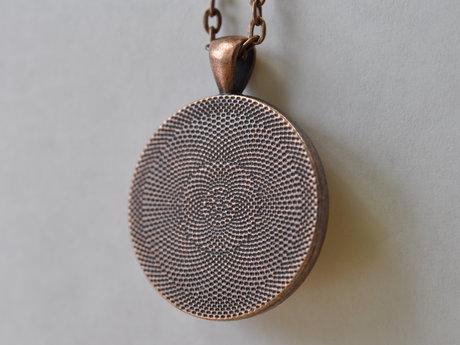 Custom pendant RESERVED for Sata