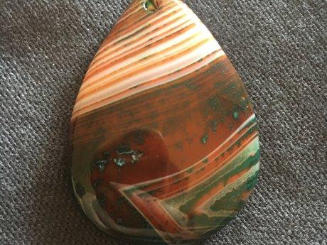 Teardrop Stone pendant