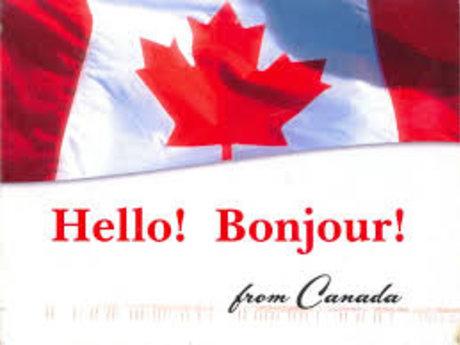 Random postcard from Canada!