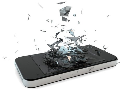 iPhone broken screen repair