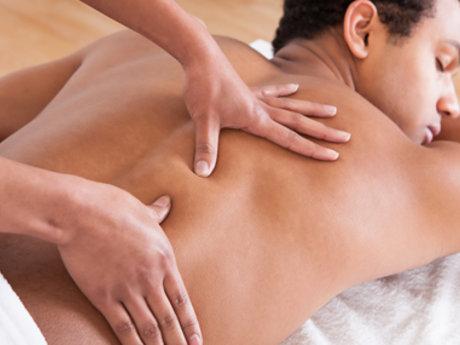 Custom mineral Lotion Massage